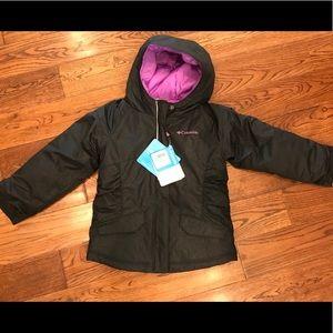 NWT 4T Columbia Girls Winter Coat